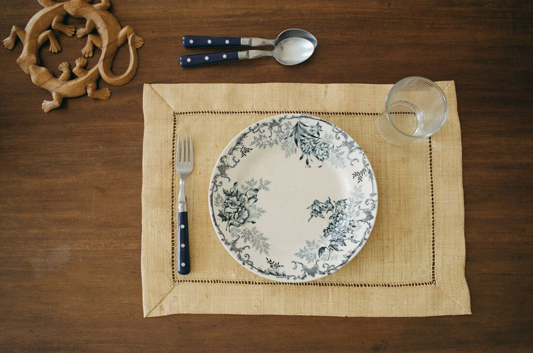 Empty place setting on table - Disordered Eating